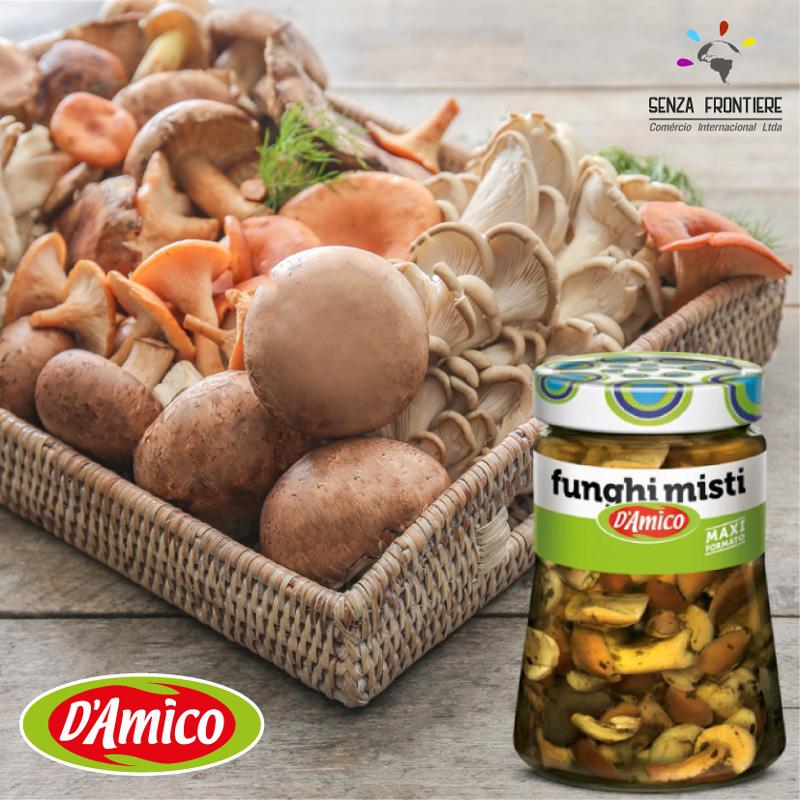 Mix Cogumelos D'Amico
