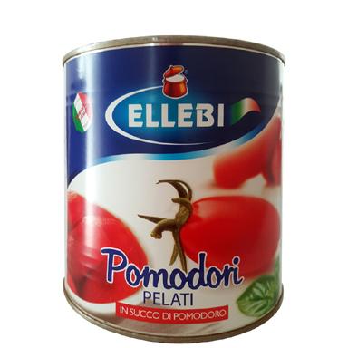 Tomate pelados Ellebi