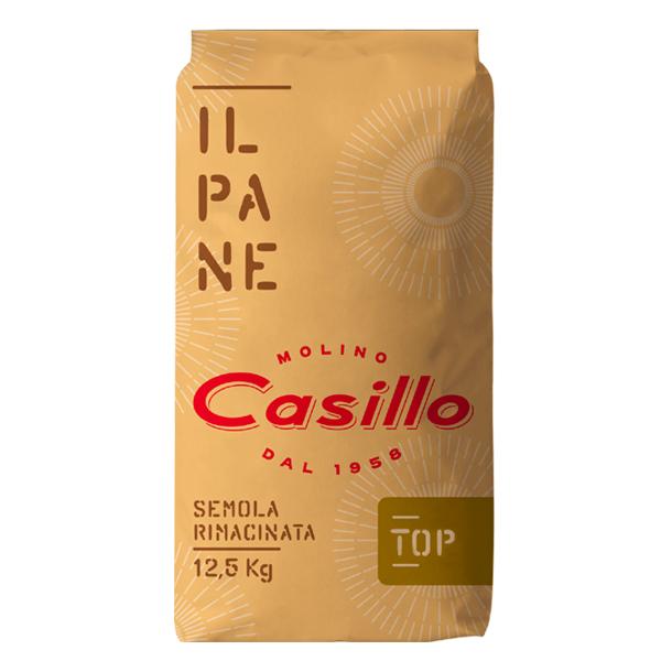 Semola trigo duro Rimacinata Top Casillo