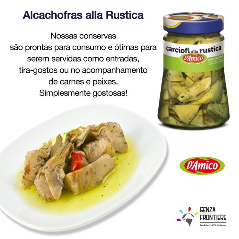 Alcachofra rustica D'Amico